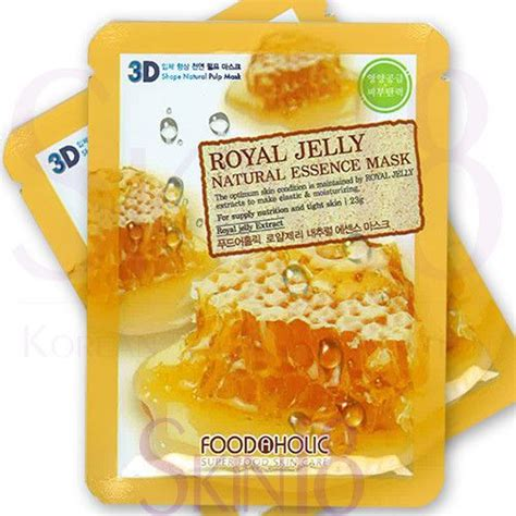 Dr G Wrinkle Snail Mask 10pcs foodaholic 3d royal jelly essence mask