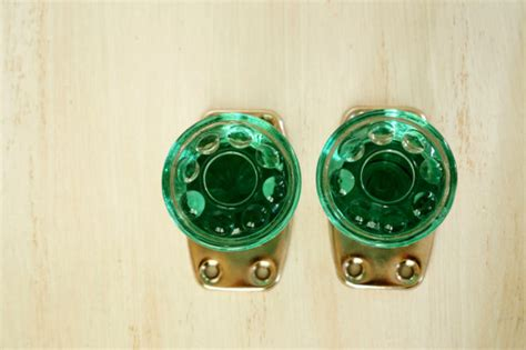 Decorative Glass Door Knobs by Vintage Glass Door Knobs Decorative Door Knobs Green By