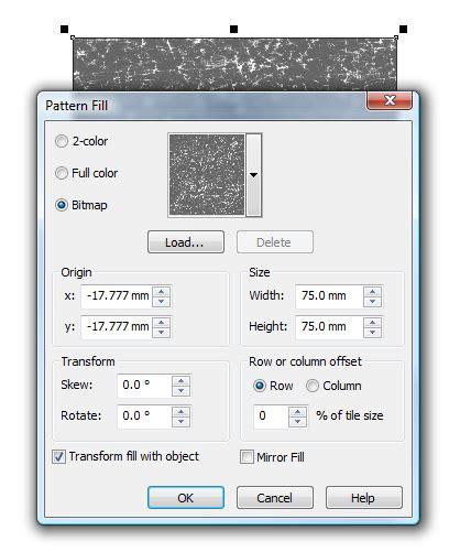 bitmap pattern coreldraw download creating bitmap patterns coreldraw graphics suite