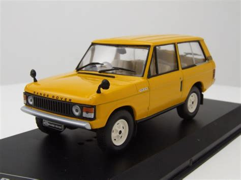 Modell Auto by Land Rover Range Rover 3 5 Rhd 1970 Gelb Modellauto 1 43