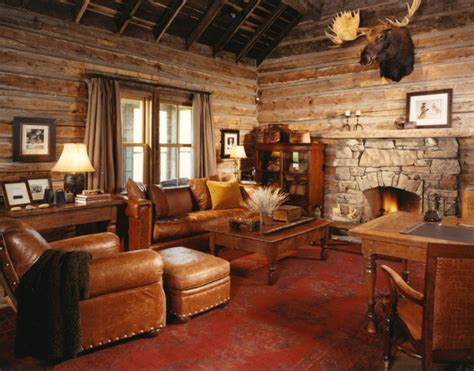 Decorating Ideas For River House Rustic Family Room