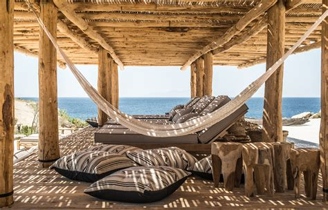 home decor a sunset design guide rediscover a rustic beach experience at scorpios mykonos