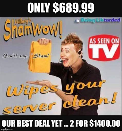 Shamwow Meme - another side of capitalism imgflip