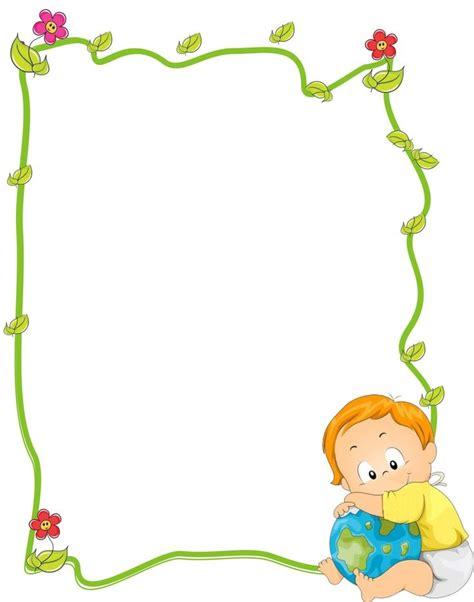 marcos para decorar hojas infantiles bordes infantiles para decorar hojas infantiles buscar 17