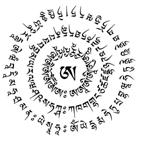 imagenes de simbolos tibetanos mantras de equilibrio emocional significado