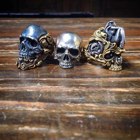 Cincin Tengkorak Skull Ring Bikers Helmet By Dogdag Metalworks 17 best images about skull rings on macabre bespoke and rockers