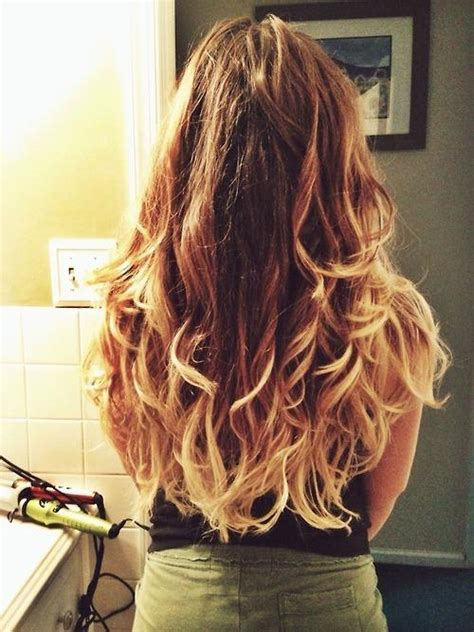 messy frosted ombre hairstyles
