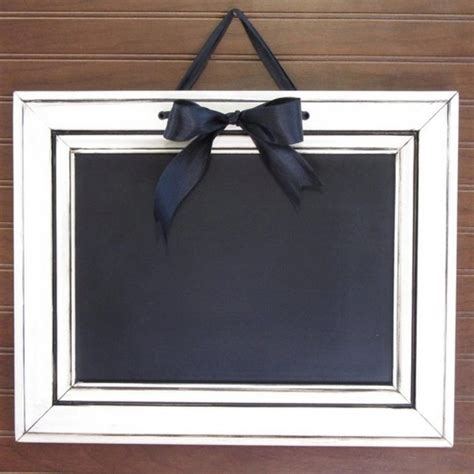 Cabinet Door Projects by How To Make A Chalkboard Sign Using Cabinet Doors