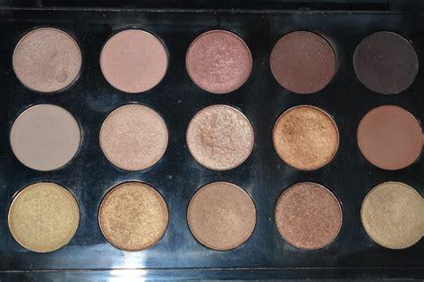 Mac Eyeshadow X 15 mac eyeshadow x 15 warm neutral palette review swatches