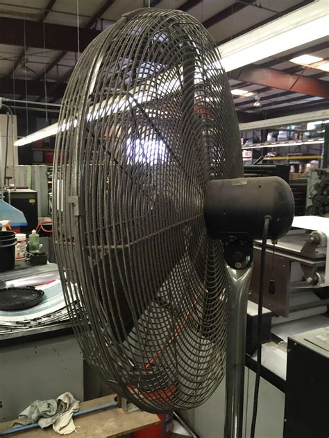 patton industrial heavy duty fan lot 22 industrial heavy duty high velocity pedestal shop