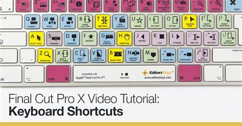 tutorial final cut pro x indonesia final cut pro x video tutorial keyboard shortcuts the