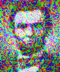 Art trippy lsd animation lincoln abraham lincoln trippy gif fractal