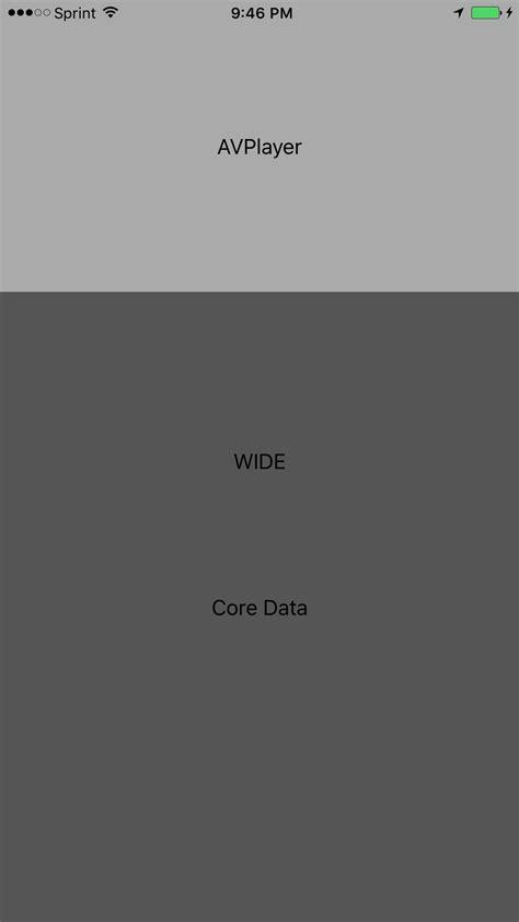 xcode auto layout aspect ratio ios xcode interface builder aspect ratio auto layout all