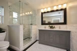 clean classic bathroom
