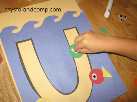 preschool crafts for letter of the week u preschool craft
