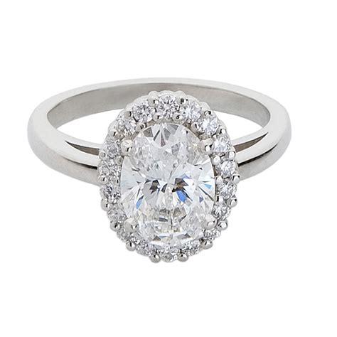 oval cut halo engagement ring 1 carat m flynn