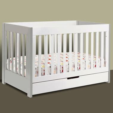 babyletto mercer crib in grey and white free shipping
