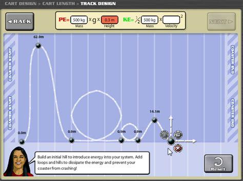 coaster creator facrac roller coaster lesson plans