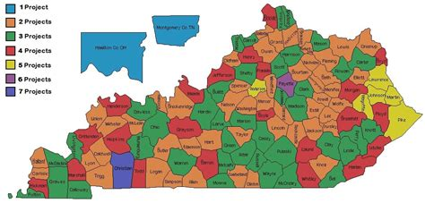 kentucky colleges map map of kentucky colleges map