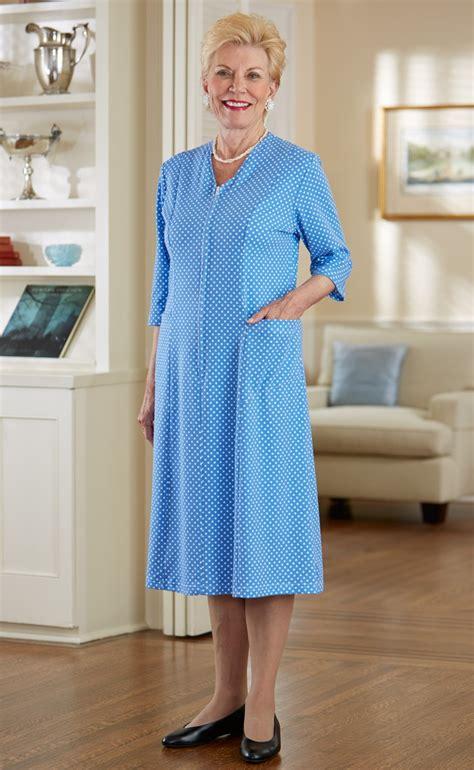 Eledy Dress dotted zip front knit dress buck buck