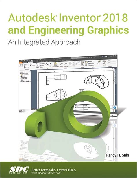 engineering design with solidworks 2018 and books autodesk inventor 2018 and engineering graphics an