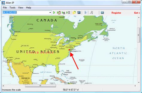 Ip Address Lookup Map How To Get Location Of A Computer On The World S Map Ip Lookup
