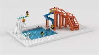 lego schwimmbad lego ideas swimming pool