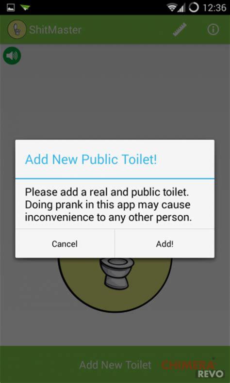 app bagni pubblici shitmaster l app per trovare bagni pubblici su android
