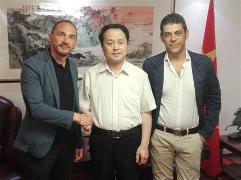 consolato cinese firenze comunit 224 cinesi il sindaco fossi incontra il console