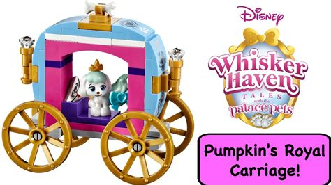 Lego 41141 Disney Princess Pumpkins Royal Carriage lego disney princess palace pets pumpkin s royal carriage 41141 whisker tales
