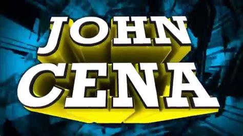 theme songs john cena his name is john cena theme song doovi