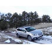 Subaru Outback 2015 On Snow  Autos Post