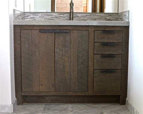 wood bathroom vanity classic unfinished barn wood ikea bathroom vanity with