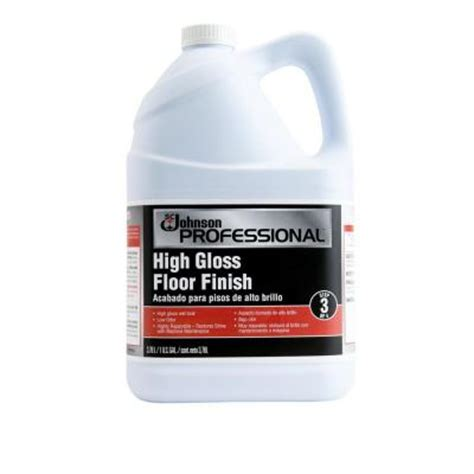 sc johnson 1 gal high gloss floor finish 4 per