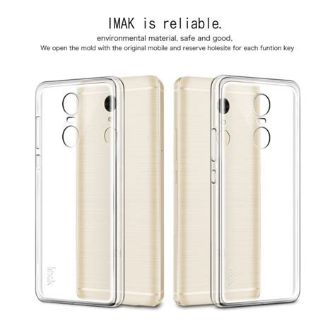 Imak Ultra Thin Tpu For Xiaomi Redmi Note 4 Transparent imak ultra thin tpu for xiaomi redmi note 4 mediatek transparent jakartanotebook