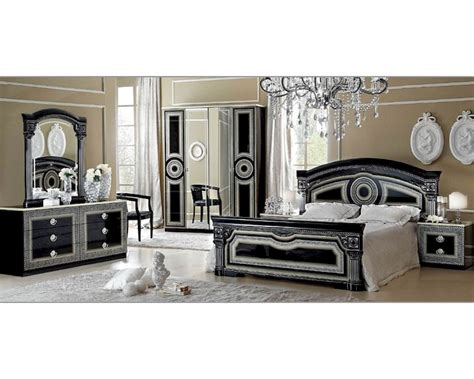 Bedroom Furniture Classic Classic Bedroom Set Made In Italy Aida 3313ad