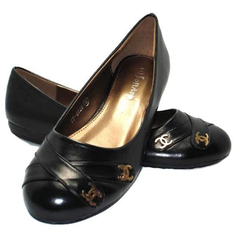 womens smart flat shoes s black ballerina ballet loafer smart
