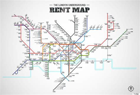 when are rent prices the lowest london underground rent map shows cheapest and most