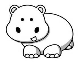 107 Dessins De Coloriage Hippopotame &224 Imprimer Sur LaGuerchecom  sketch template