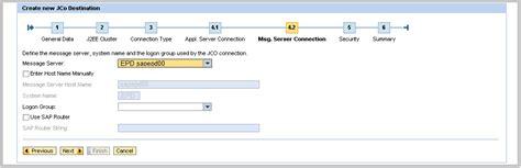 sap jco tutorial sap java creating a new jco destination sap basis tuts