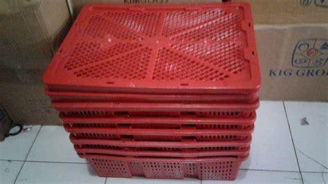 Jual Keranjang Buah Plastik Surabaya jual keranjang buah dengan tutup harga murah surabaya oleh