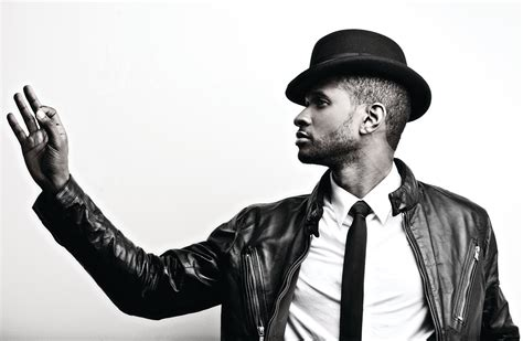 usher r photos usher adds pair of solid gold air jordan 9s to his