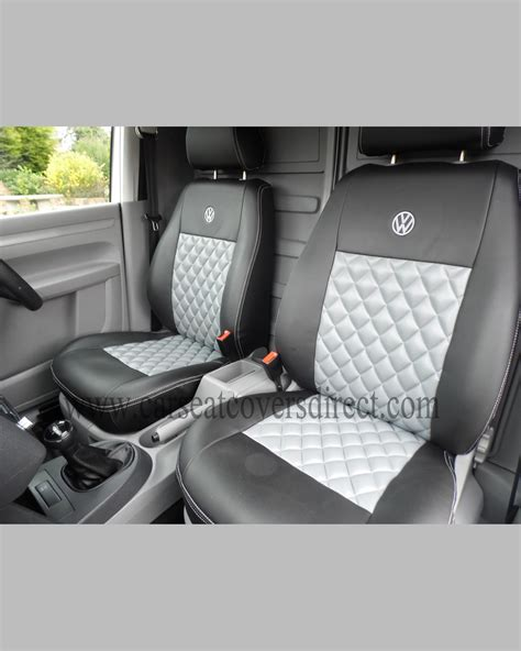vw seat upholstery volkswagen vw caddy black grey seat covers car seat