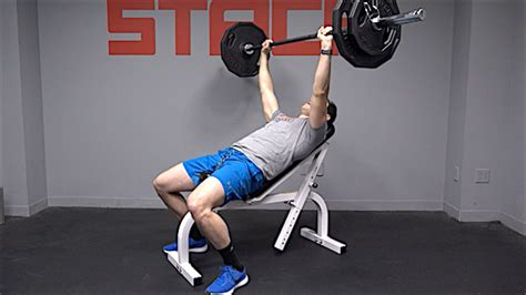 incline bench press form do the incline bench press for a stronger and bigger chest