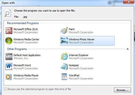 Switching From Ms Program To An Mba Program by How To Change Default Picture Viewer In Windows