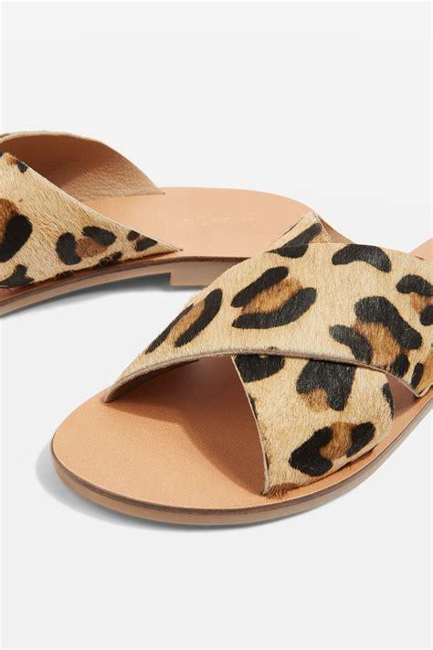 topshop leopard sandals cross leopard sandals topshop