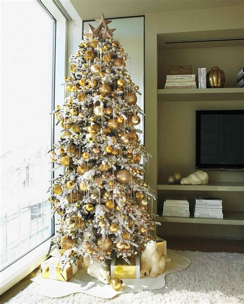 tree decorating ideas 28 creative christmas tree decorating ideas martha stewart
