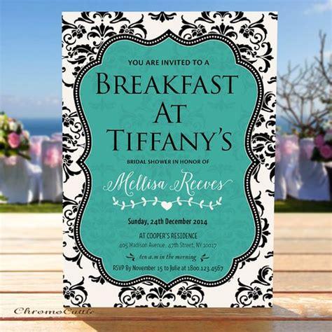 diy breakfast at s bridal shower invitations bridal showers breakfast at tiffanys and bridal shower on
