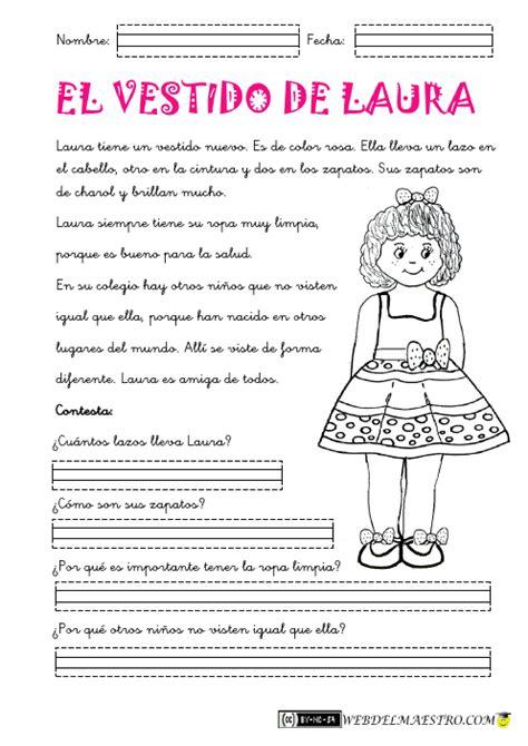 Lectura Y Redaccin Ejercicios Y Teora Sobre Lengua Espaola | lectura comprensiva archivos web del maestro educaci 243 n