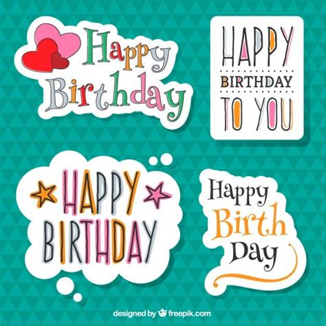 printable birthday stickers 141 best images about tarjetas on pinterest te amo